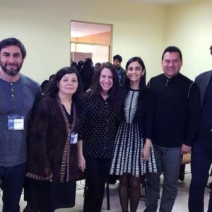 Javier Lorca, Rossana Bastías, Rejane Spitz, Jimena Alarcón, Gabriel Hernández, Alan Fox.